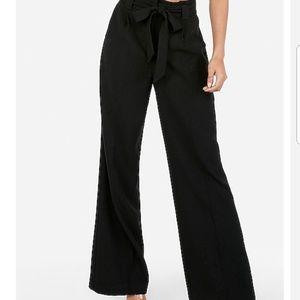 Black Express Wide Leg Pants